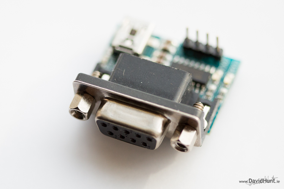 Add a 9 pin serial port to your raspberry pi in 10 minutes heres sciox Images