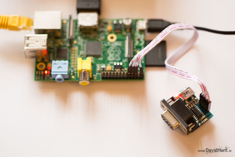 Add a 9-pin Serial Port to your Raspberry Pi in 10 Minutes