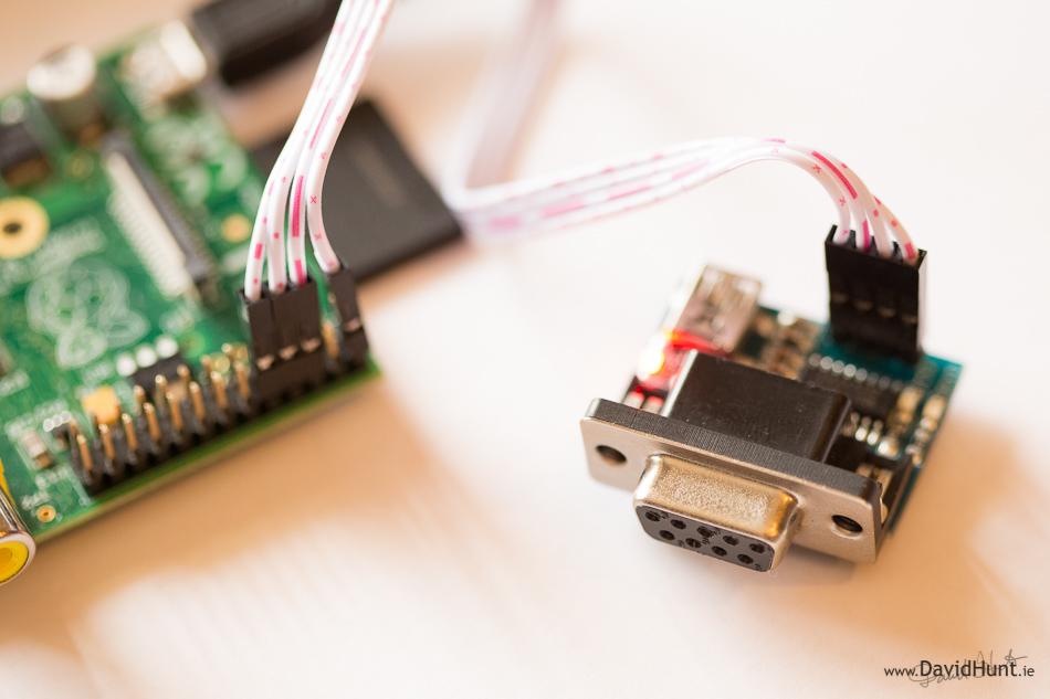 raspberry pi 3 serial port number
