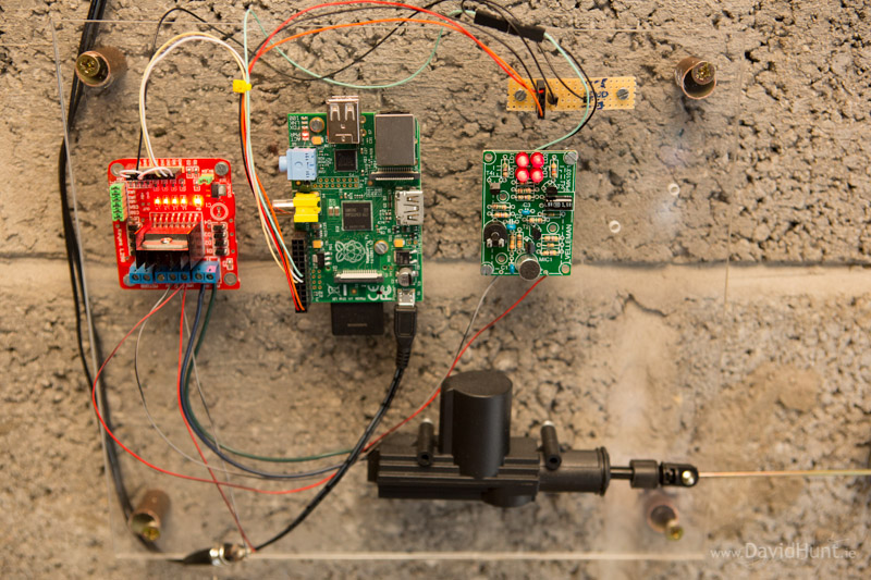 Pi-Rex – Bark Activated Door Opening System with Raspberry
