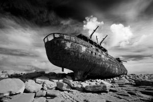 Plassey Wreck, Aran Islands